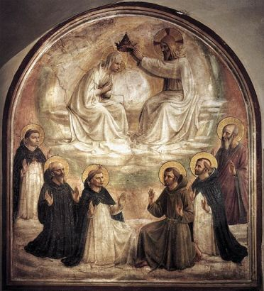 543px-Coronation_of_Mary_by_Fra_Angelico_(San_Marco_Cell_9)