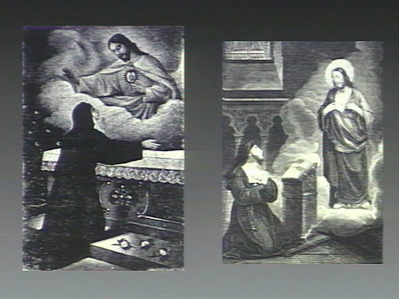 V0035640 Christ appears to St. Margaret Mary Alacoque