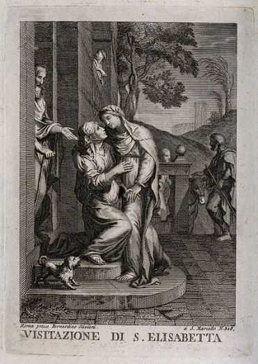 The_Visitation_of_Mary_to_Elizabeth._Engraving._Wellcome_V0034589